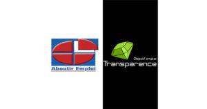 TRANSPARENCE - ABOUTIR EMPLOI