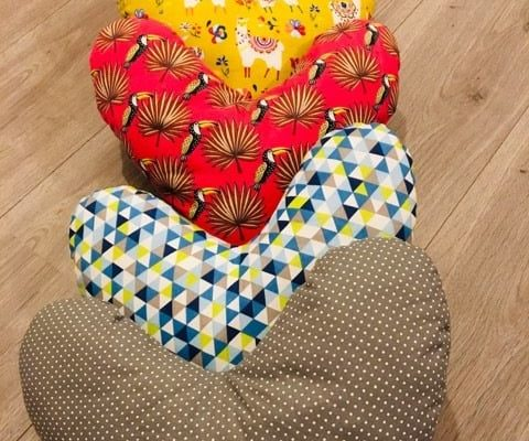 coussin coeur, actions 2